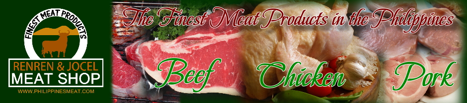 Philippines Wholesale Meats | Renren & Jocel Meat Shop Meat Products